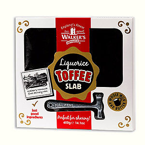 Walkers Hammer Gift Pack -400G Liquorice Toffee, Retro Sweets, Nonsuch Christmas