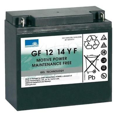 15Ah Deep Cycle Gel Mobility Scooter Battery - Sonnenschein GF 12 14 Y F