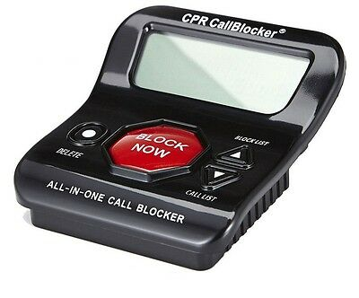 Brand New CPR V202 Call Blocker - Block All Types Of Nuisance Calls- All In One