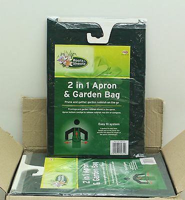 New Wholesale Job Lot 12 x Roots And Shoots 2 in 1 Apron And Garden Bag FREE P&P