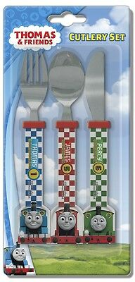 Thomas & Friends | Racing | James 3pc Mealtime Cutlery Set | Knife, Fork & Spoon