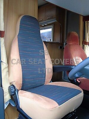 To Fit A Peugeot Boxer Motorhome, Seat Covers, Reggie Brown Mh-012