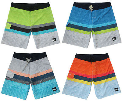 QUIKSILVER Stretch Mens Board Shorts Quick Dry Surf Pants Beach Shorts Swimwear