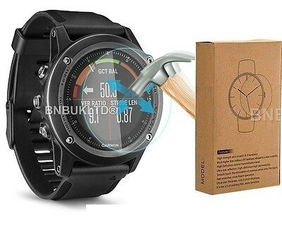 3 X 100% Tempered Glass Screen Protector for Garmin Fenix 3 HR