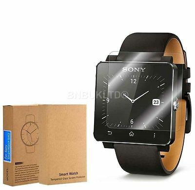 3 X 100% Tempered Glass Screen Protector for Sony SmartWatch 2 SW2