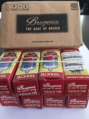 12Ax7B Bugera Valve New Boxed 1 Piece