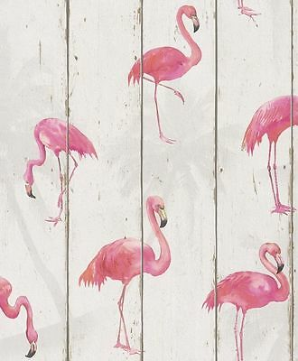 NEW Wood,White Pink wallpaper by Barbara Becker 479720