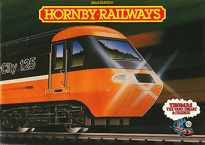 Hornby Railways Catalogue '00' Scale 32Nd Edition 1986 Paperback