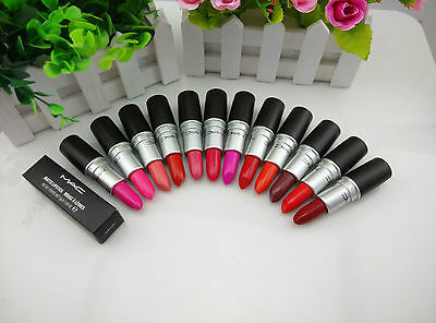 Hot women satin matte lipstick Ruby attract days against most wanted colour