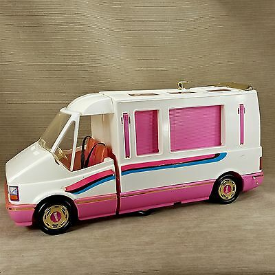 Barbie Golden Dream Motor RV Converts to Home & Trail Rider Vehicle 1988 Vintage