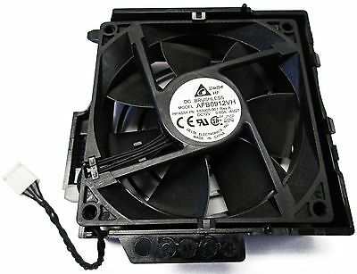 HP Z420 Workstation Rear Fan Cooling Assembly 90mm 653905-001 647292-001