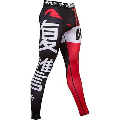 New Venum Revenge Spats - Black/Red