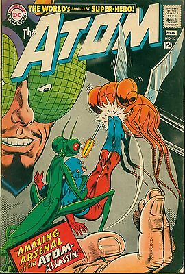 """DC (1967) THE ATOM #33  - """"Amazing Arsenal of the Atom-Assassin!"""" - 3.5/VG-"""