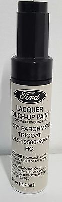 NOS OEM Ford Lacquer Touch Up Paint IVORY PARCHMENT TRICOAT ALBZ-19500-6944A  HC