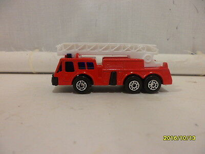 Fire Truck Red  By Maisto  1/64 Scale 1994 Loose  B456