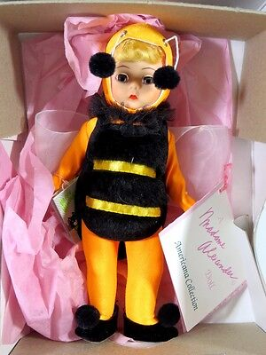 """Boxed Madame Alexander Doll 8"""" In Costume Bumble Bee Halloween"""