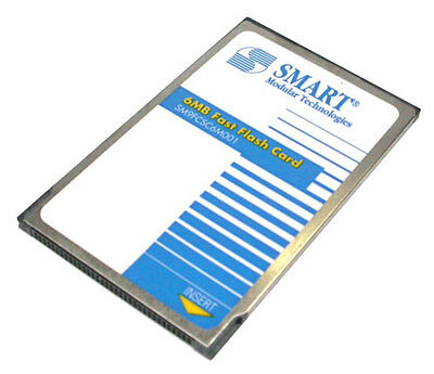 Fast Flash Card Card Flash Card 6Mb Smart Sm9Fcsc6M001A Cisco Router 1601 1604