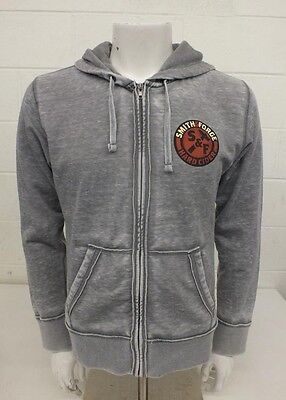 J.America Pre-Washed Gray Color Men/'s Hoodie