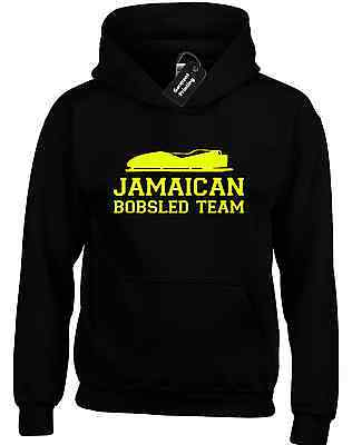 Jamaican Bobsled Team Hoody Hoodie Funny Cool Runnings Design New Quality