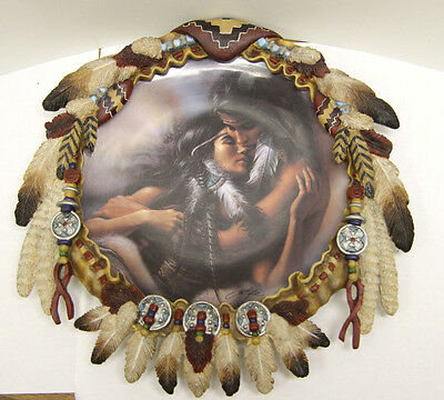 """""""Rapture"""" from the Souls Embraced Collection - Decorative Plate - by Lee Bogle"""