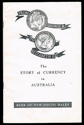 1959 Book: From George III to Elizabeth II -  The Story of Currency in Australia