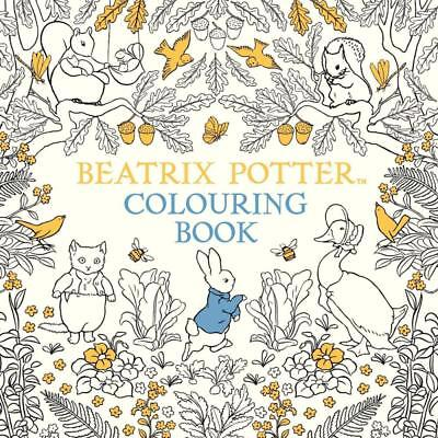 NEW The Beatrix Potter Colouring Book By  Warne Paperback Free Shipping