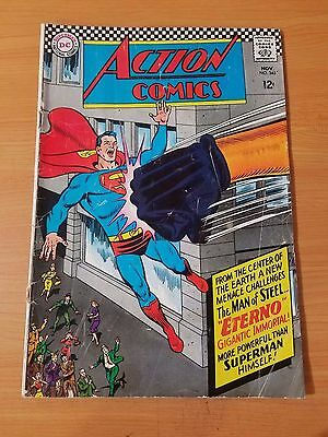 Action Comics #343 ~ GOOD - VERY GOOD VG ~ (1966, DC Comics)
