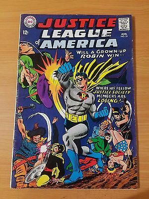 Justice League of America #55 ~ FINE - VERY FINE VF ~ (1967, DC Comics)