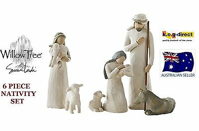 6 PIECE NATIVITY Demdaco Willow Tree Figurine By Susan Lordi NEW IN BOX