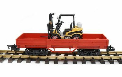NewRay Low-sided wagon with Forklift, G Scale Garden railway