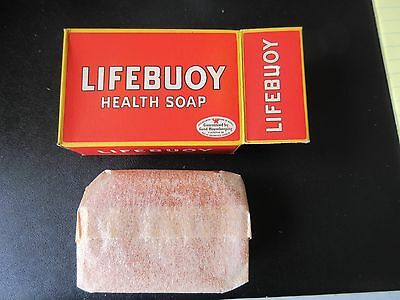 Boxes of Vintage  Lifebuoy Health Soap in Original Box & Wax Paper