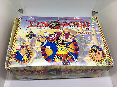 1996 Upper Deck Iznogoud Stickers Box & Cards Included