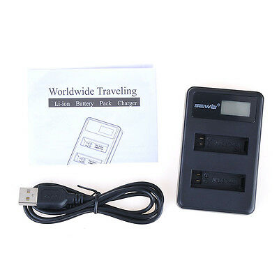 Adapter Camera For GoPro HERO4 AHDBT401 Dual Battery Charger Hot Sale With USB