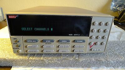 Keithley 7001 Switch System