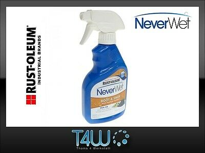 RUST-OLEUM NeverWet BOOT SHOES hydrophobic repelling spray 325ml