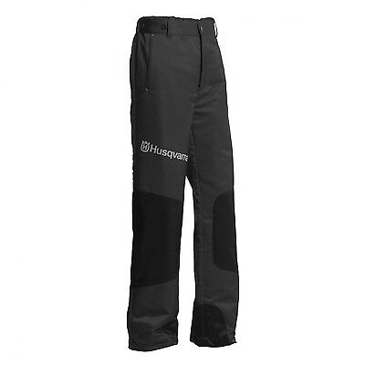 New Husqvarna Type A Classic Protective Chainsaw Work Trousers SIZE LARGE
