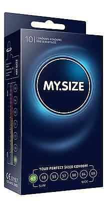 My Size Condoms 10 Pack - 47mm 49mm 53mm 57mm 60mm 64mm 69mm - Your Perfect Size