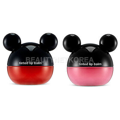 [THE FACE SHOP] Disney Tinted Lip Balm 2 Color 6g / Mickey Mouse
