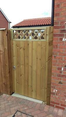 T&G Gate With Trellis 6ft x 3ft Pressure treated wood