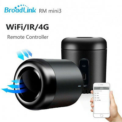 BroadLink Black Bean RM Mini3 Smart WiFi Remote Controller for Android/iOS Phone