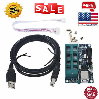 PIC USB Automatic Programming Develop Microcontroller Programmer K150 ICSP OUY