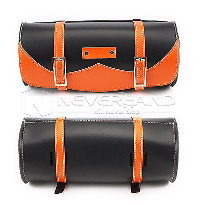 Motorcycle Tool Bag Luggage Side SaddleBag For Harley Softail Dyna Sportster