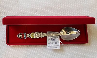 Real Russian silver  Spoon Christening Baby 925