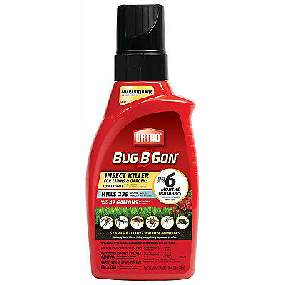 Lawn Garden Insect Killer Concentrate Bug Mosquito Flea Ant Tick Outdoor Yard