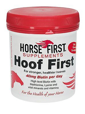 HORSE FIRST HOOF FIRST SUPPLEMENT biotin for healthy hooves