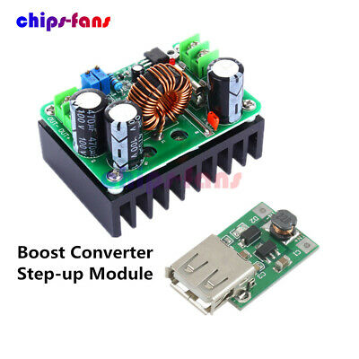 DC 600W 10-60V to 12-80V Boost Converter Step-up Module car Power Supply NEW