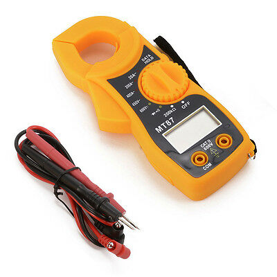 Electronic Digital Clamp Meter Multimeter AC DC Voltage Current Volt Tester Tool