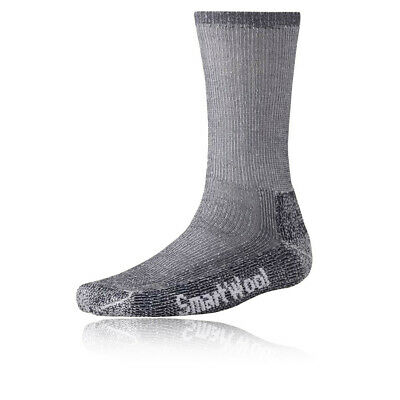 SmartWool Mens Trekking Grey Merino Wool Mid Height Heavy Outdoors Hiking Socks