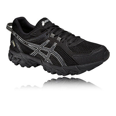 ASICS Gel-Sonoma 2 Womens Black Gore Tex Running Sports Shoes Trainers Pumps