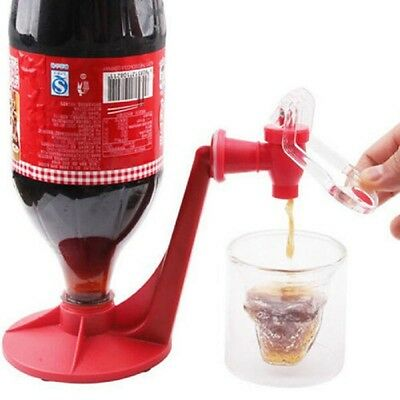 Fashion Creative Coke Fizzy Soda Soft Drinking Drink Saver Dispenser Faucet Bars